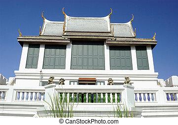 Thai pavilion in sunnyday.
