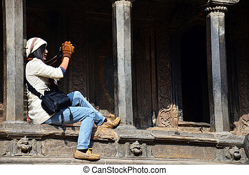 Thai Photography in Patan Durbar Square is situated at the ...