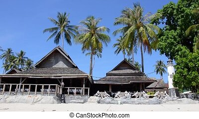 thai resort - Thailand, Phi Phi Islands, Lanscape With Bar