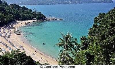 thai seascape - Wonderful seascape. Phuket, Thailand