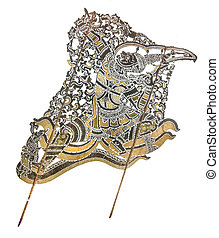 Thai Shadow Puppet - Ratchaburi, Thailand %u2013 July 25,...