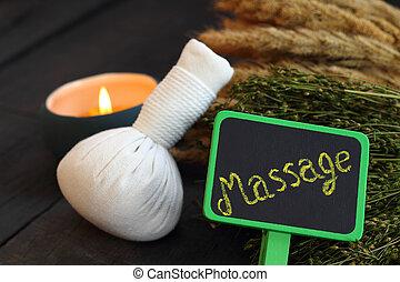 Thai spa and massage.
