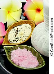 Thai Spa Herbal Massage Set in Tray