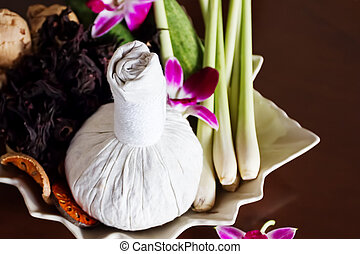 Thai spa massage