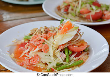 Thai spicy salad