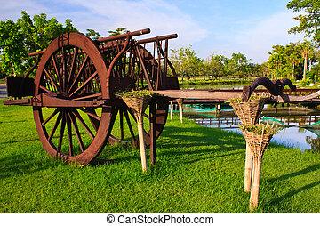 Thai style cart