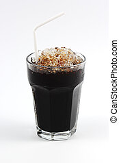 Thai style ice black coffee