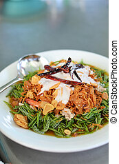 Thai style spicy salad