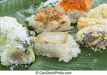 Thai sweet dessert