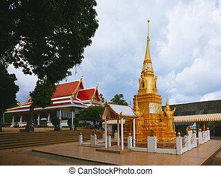 thai, tempel