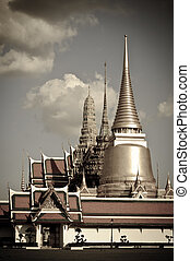 Thai temple in grand palace