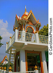 Thai Temple - Thai Buddhist temple located in Ayyuttai near...