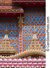 Thai Thai Buddhist Temple Detail
