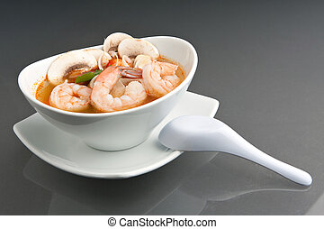 Thai Tom Yum Khoong Soup