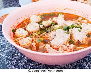 Thai Tomyum - Tomyum Thai Spicy food