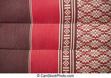 thai tradition hand made cotton texture background