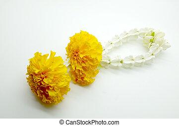 Thai traditional floral garland