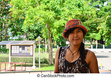 Thai woman portrait