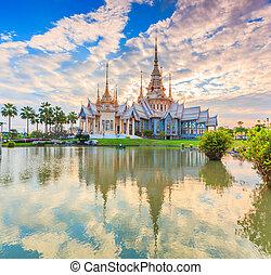 thaiföld, birtok, buddhizmus, kincs, vagy, közönség,...