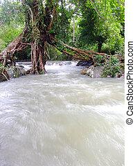 thaiföld, vízesés