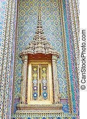 Thailand famous temple, Wat Ratchabophitsathitmahasimaram...