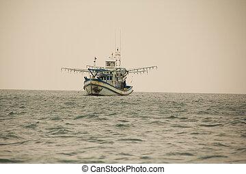 Thailand fishing ship