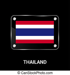 Thailand flag design vector