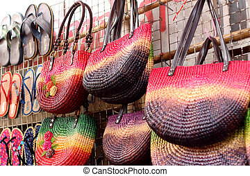 Thailand handmade bags embroidery