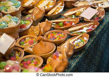 thailand, markt, hapjes