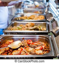 thailand nahrung, buffet.