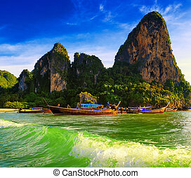 Thailand ocean landscape