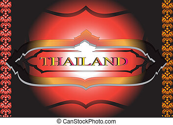 Thailand pattern design