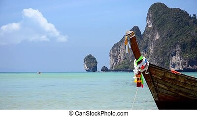 Thailand Phi phi islands seascape - phi phi islands seascape...