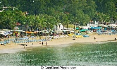 Thailand. Phuket. Kamala Beach. The start of tourist season