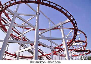 Thailand roller coaster
