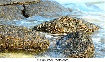 Thailand Seascape - Island on Andaman sea, Similan Islands,...