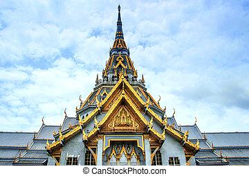 thailand, sothorn, chachengsao, tempel
