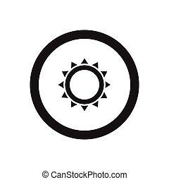 Thailand symbol icon, silhouette style
