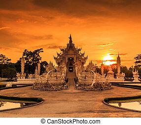 Thailand Temple - Wat Rong Khun of Chiangrai Asia Thailand