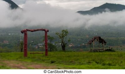 thailand the mountains timelapse