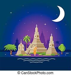 Thailand tourism landmarks, holy place