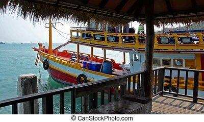 thailand tourist boat