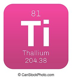 Thallium chemical element