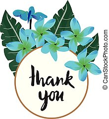 Thank You Card - vector thank you card
