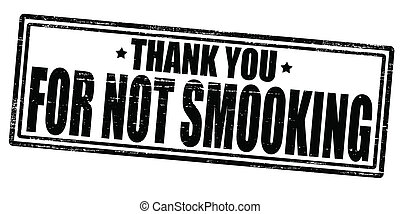 Thank you for not smooking