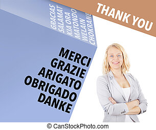 Thank you - international business