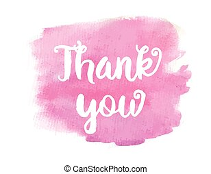 thank you lettering - Thank you. Inspirational motivational...
