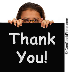 Thank You Message To Show Gratitude Or Thanks
