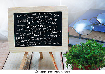 Thank You, Motivational Words Quotes Concept