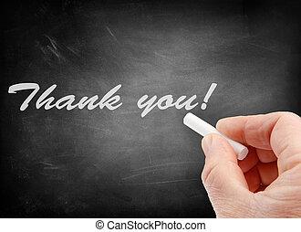Thank you on blackboard